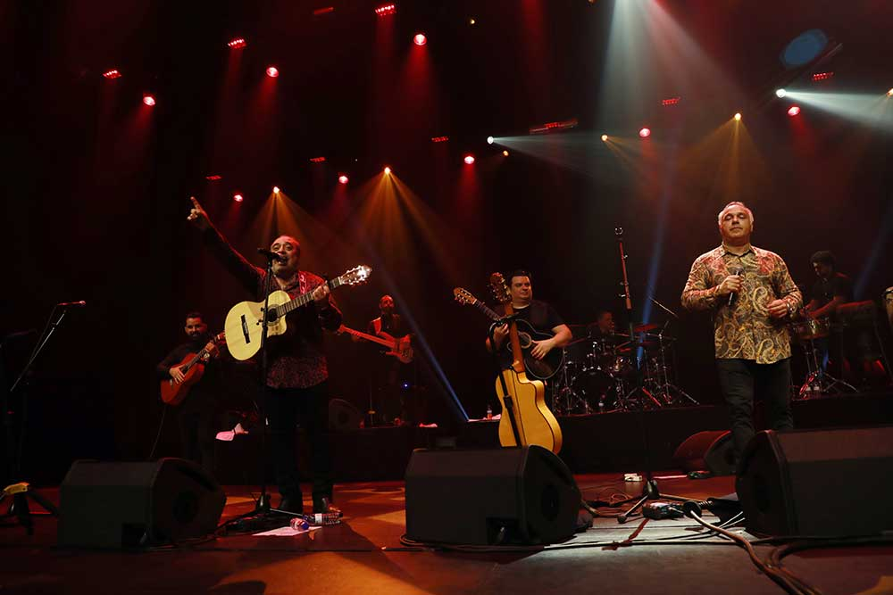 Gipsy Kings brilharam na noite do Estoril