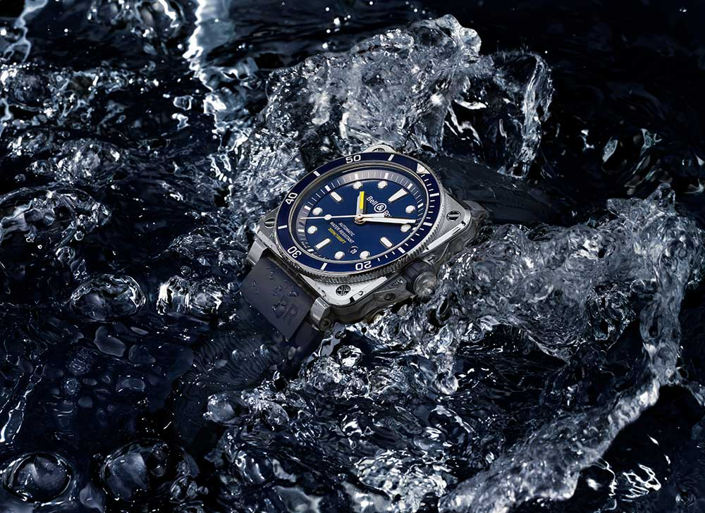 Bell & Ross Diver Blue... nem as profundezas travam…