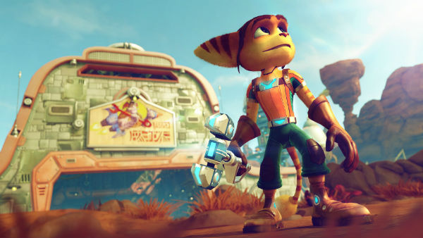 Ratchet & Clank é aposta exclusiva da PS4