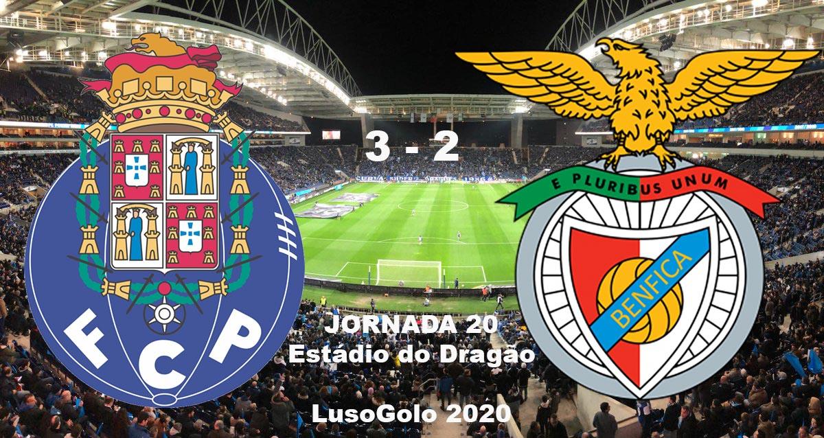 Lusonoticias Fc Porto Vence Benfica 3 2 Com Primeiro Tempo De Excelencia Ao Minuto