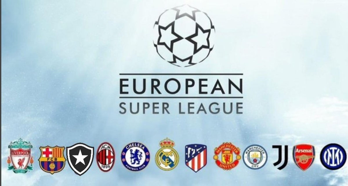 12 clubes anunciam Superliga europeia